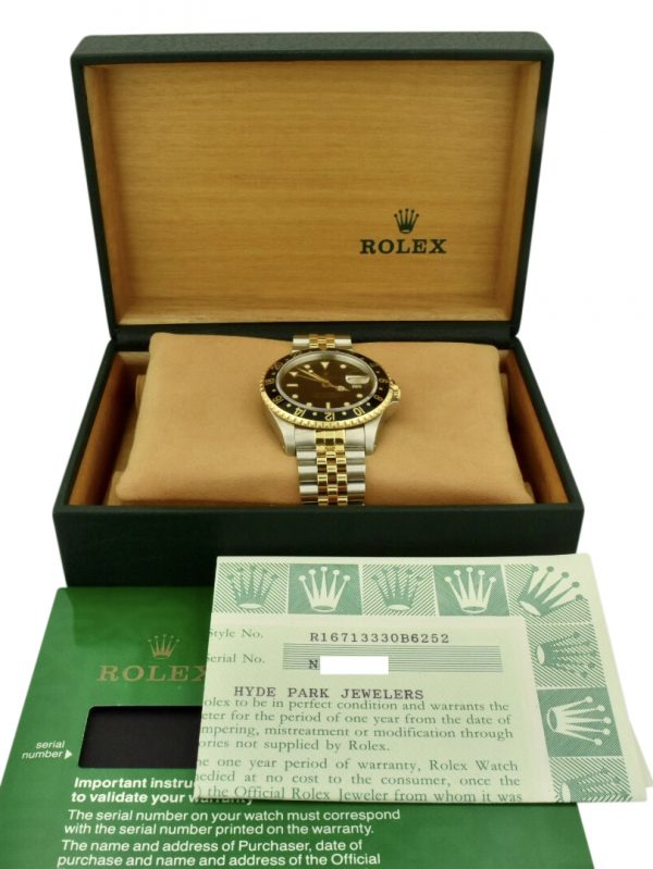rolex gmt 16713 for sale