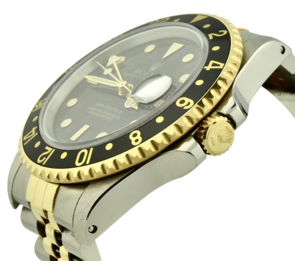 rolex gmt-master 16713 crown