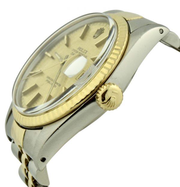 rolex 18k gold crown