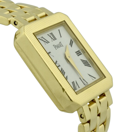 ladies Piaget protocole 18k yellow gold