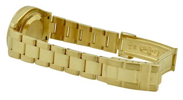 rolex 18k yellow gold oyster bracelet