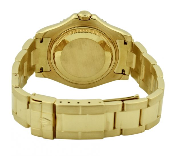 rolex 18k yellow gold clasp