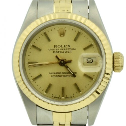 1991 rolex 69173 datejust 26mm