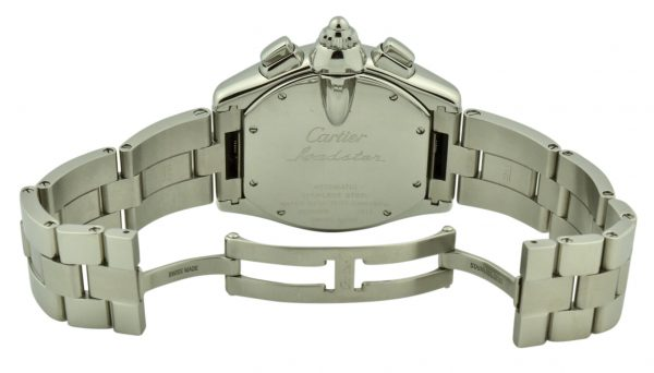 cartier roadster steel clasp