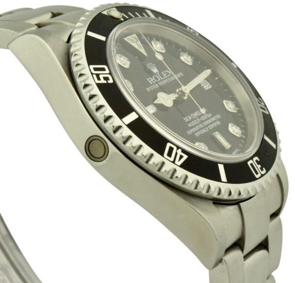 rolex seadweller 16600 diamond