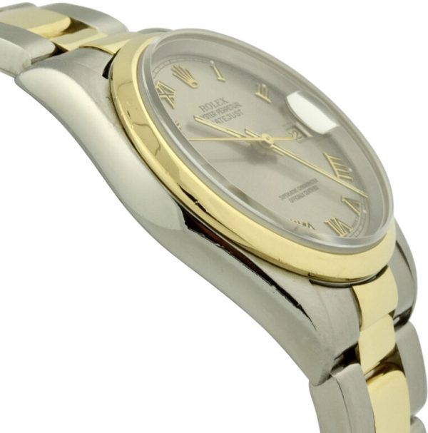 rolex datejust 16203 gold bezel