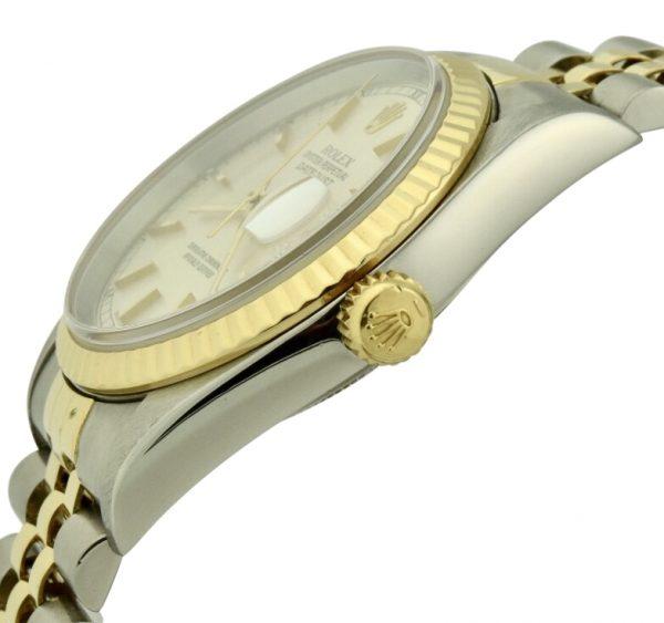 rolex 16233 gold crown