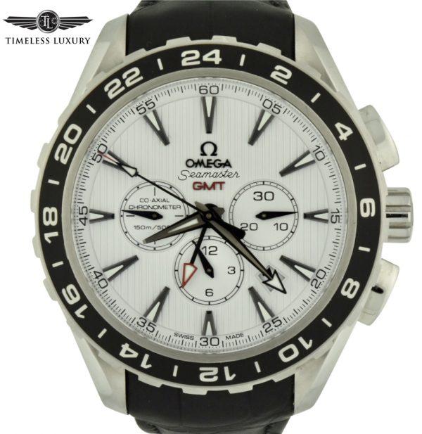 Omega seamaster aqua terra gmt chronograph