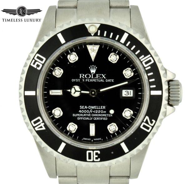 Rolex 16600 Seadweller diamond dial for sale