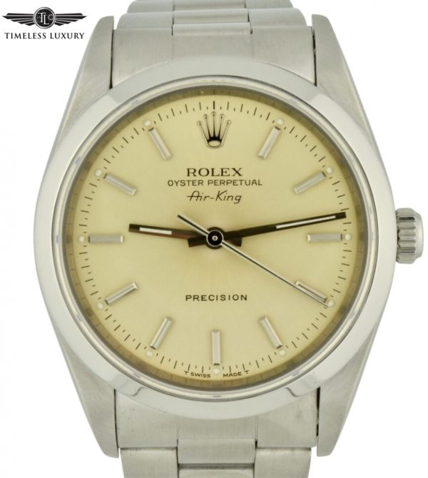 1995 Rolex Air King 14000 For Sale