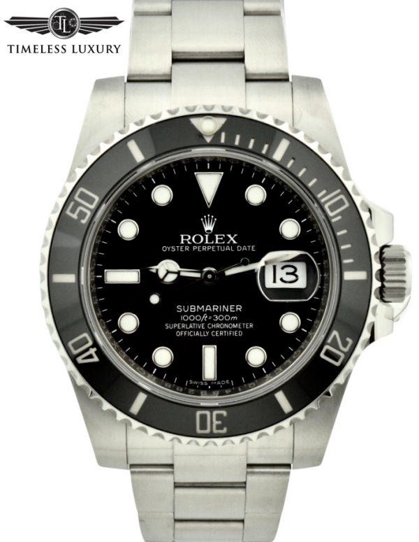 2018 Rolex Submariner 116610LN