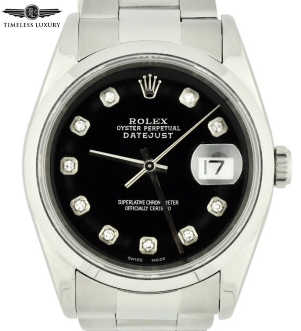 2005 rolex datejust 16220 oyster band