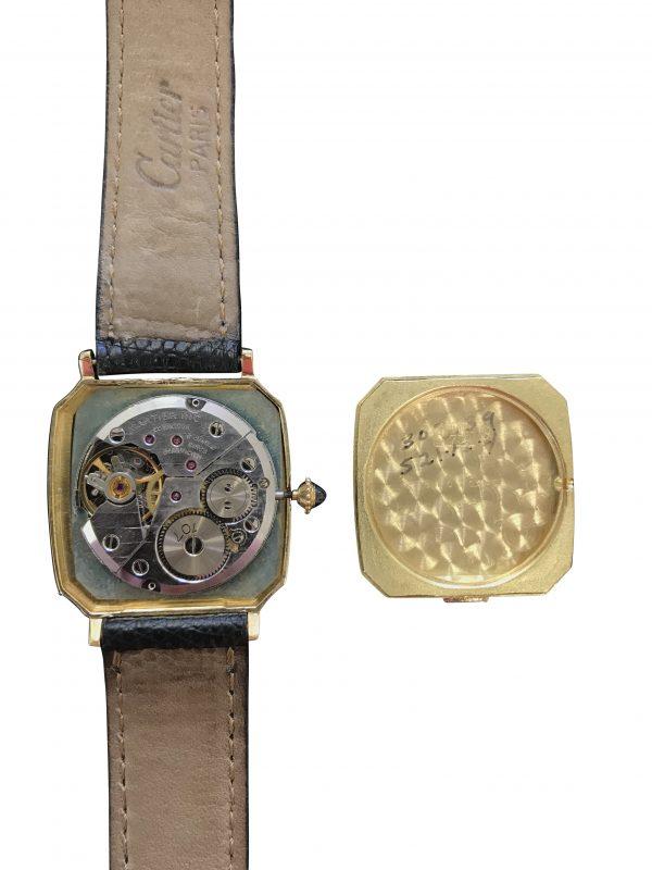 cartier manual wind watch movement