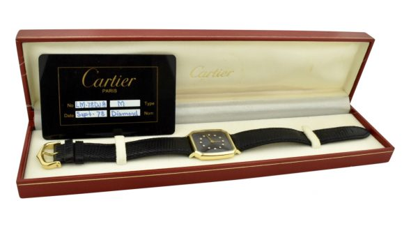 cartier 75th ford anniversary watch