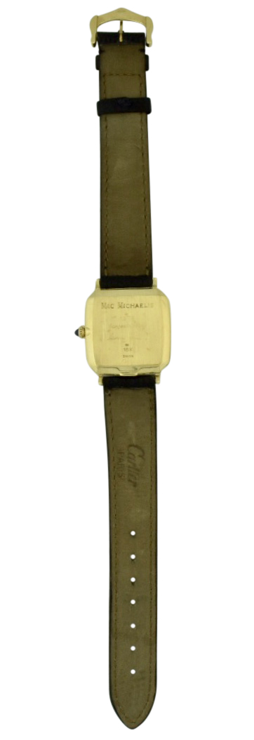 cartier 18k gold case back ford motor company