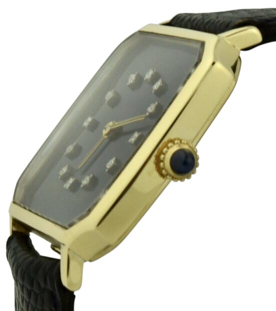 1978 cartier diamond jubilee award watch