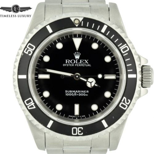 1994 Rolex Submariner 14060 No date watch