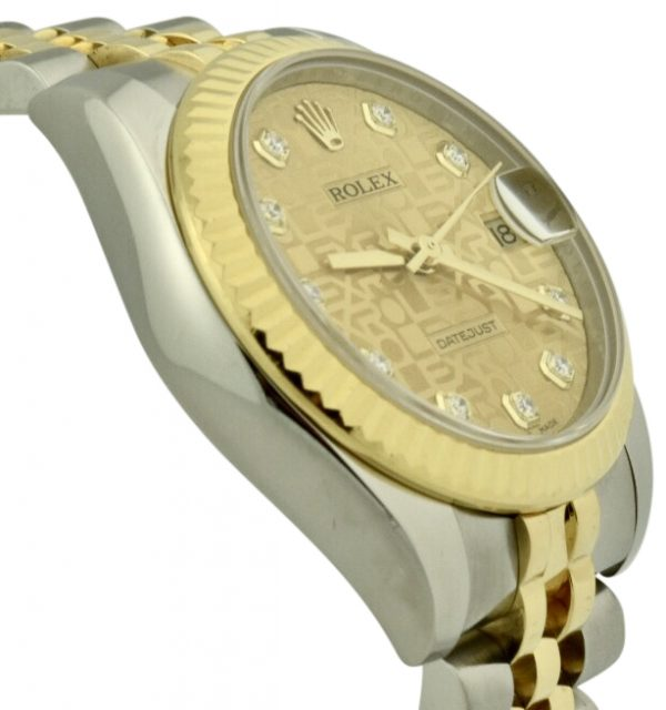 rolex datejust 178273 diamond dial