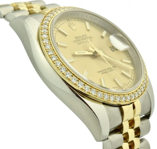 rolex datejust 116243 diamond bezel