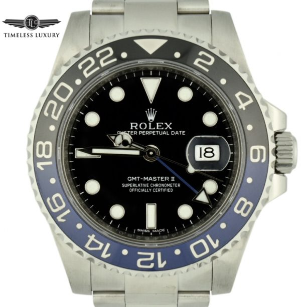 2014 Rolex GMT Master II Batman 116710blnr