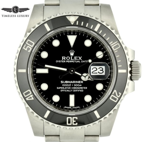 IMG 7769 2 600x595 - Rolex Submariner Date