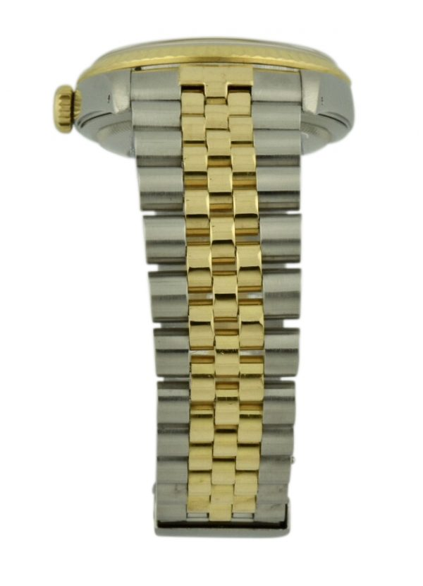 rolex steel and gold jubilee band