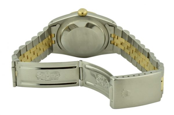 rolex datejust 16233 steel clasp