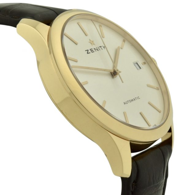 zenith port royal 18k rose gold