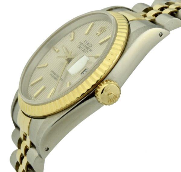 Mens Rolex datejust crown
