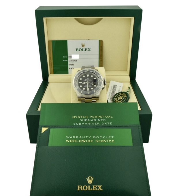 2019 rolex submariner 116610 for sale atlanta