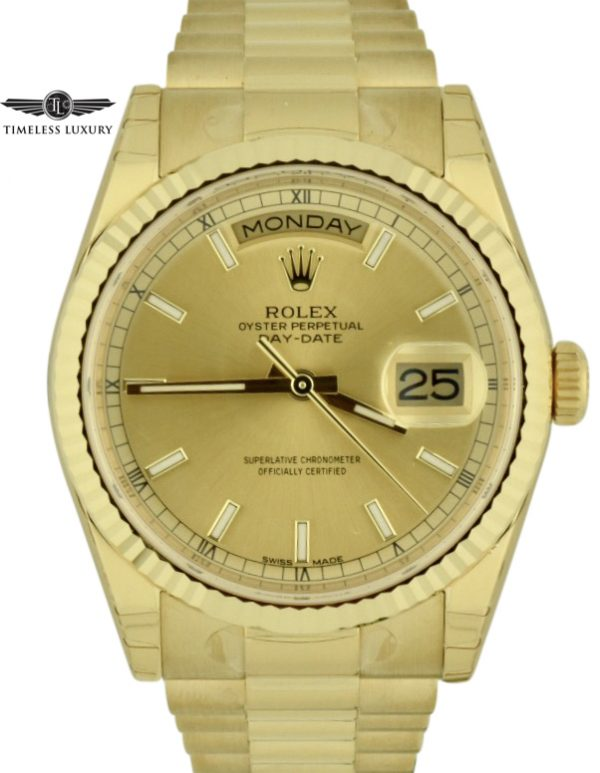 2019 rolex day date president 118238 for sale
