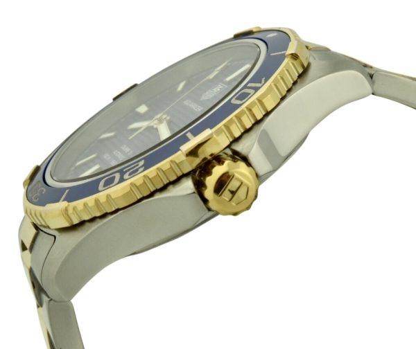 tag heuer aquaracer gold crown
