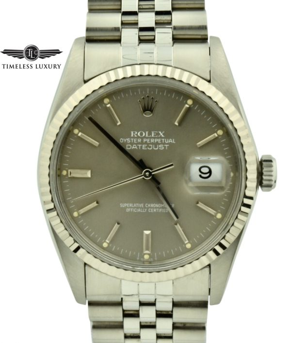 1984 Rolex Datejust 16014 Gray Dial