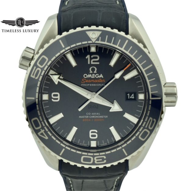Omega seamaster planet 600m ocean blue dial