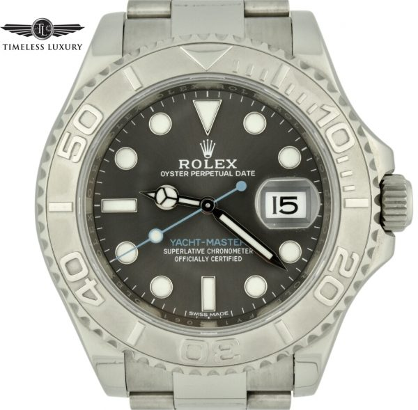 Rolex yachtmaster 116622 rhodium dial for sale