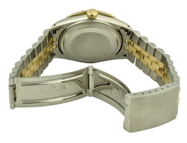 rolex datejust steel clasp