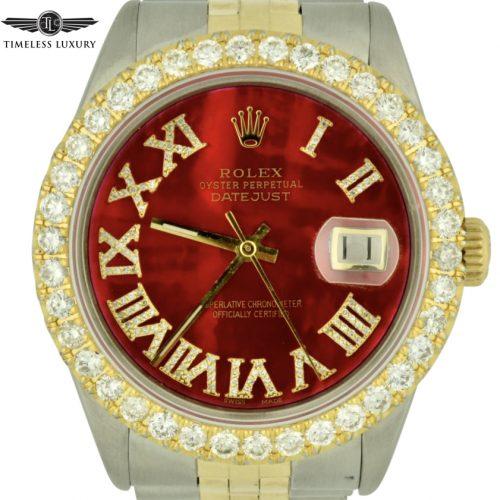 Diamond Rolex Datejust 16013