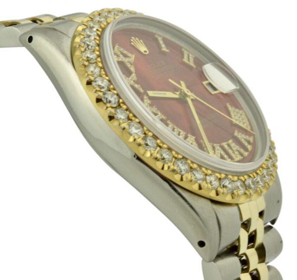 Rolex datejust diamond bezel