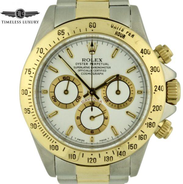 1997 Rolex daytona 16523 Steel & 18k Gold