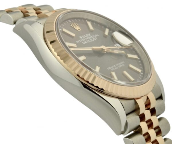 rolex datejust 126231 rose gold
