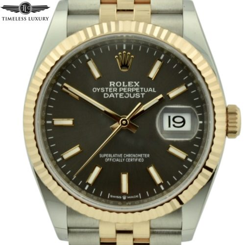 2019 Rolex Datejust 126231 Steel & 18k Rose Gold
