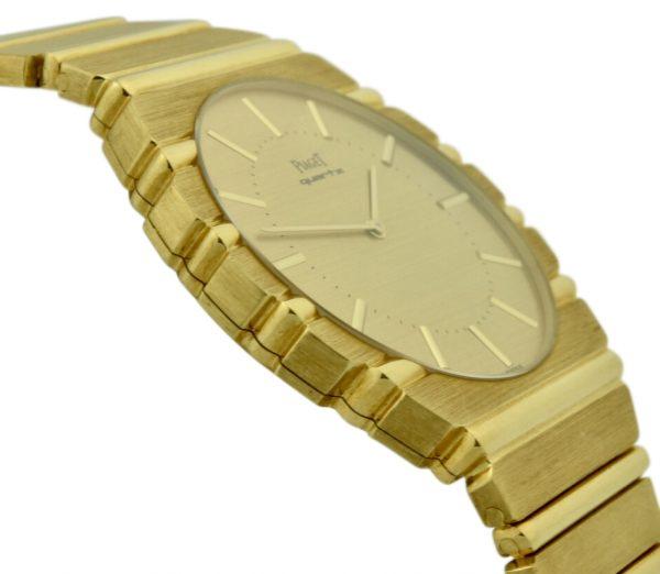 mens Piaget polo 18k gold