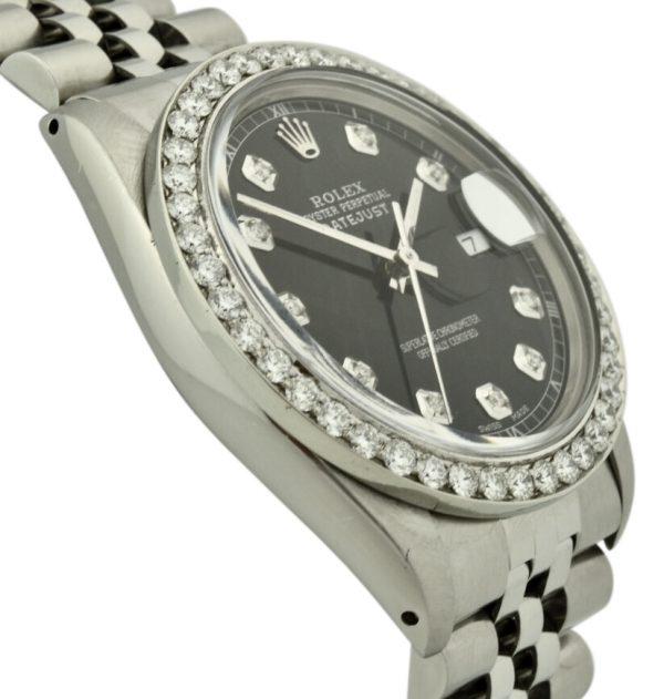 rolex datejust 16030 diamond
