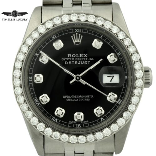 Rolex diamond datejust for sale