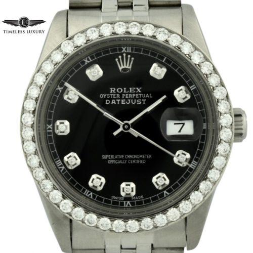 Rolex diamond datejust for sale