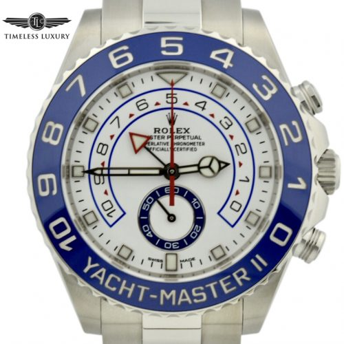 2019 Rolex yachtmaster II 116680 STAINLESS STEEL