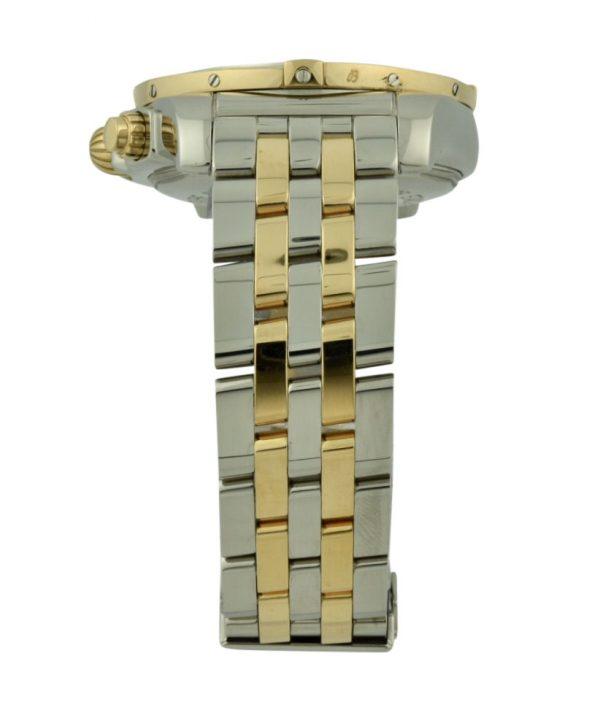 breitling Chronomat steel & rose gold band