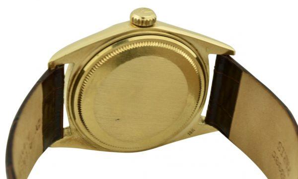 rolex 1601 gold case back