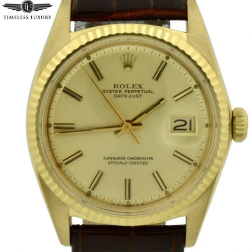 1968 rolex datejust 1601 gold