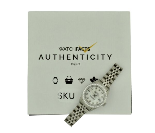 1991 lady rolex datejust diamond bezel watch